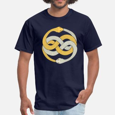 Silver Snakes Silver & Gold - Men's T-Shirt