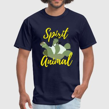 Awkward Turtle Funny Awkward Turtle Spirit Animal - Men's T-Shirt