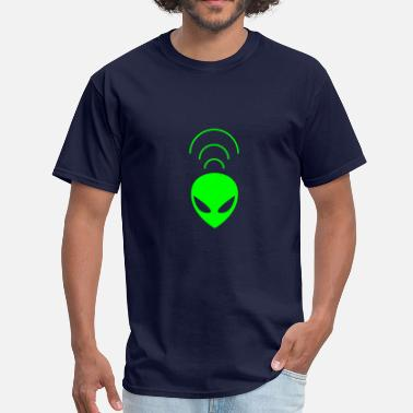 Telepathy alien telepathy - Men's T-Shirt