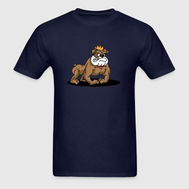 American Bully Dog Cartoon - Men's T-Shirt