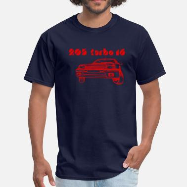 Rally Group B 205 turbo - Men's T-Shirt