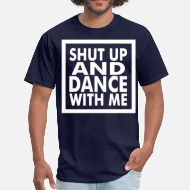 Tango Dance Steps dance with me white - Men's T-Shirt