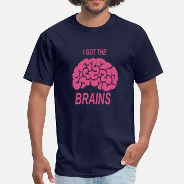 Cloudy With A Chance Of Meatballs I got the brains - Men's T-Shirt