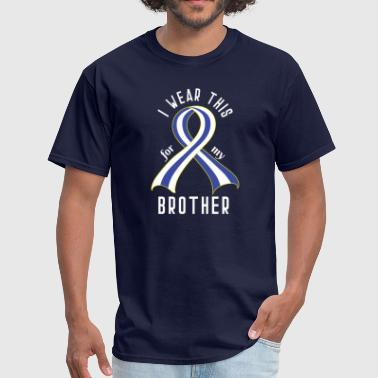 ALS Awareness Ribbon for Brother - Men's T-Shirt