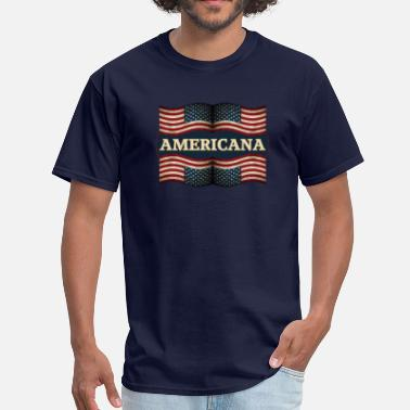 Americana Music americana - Men's T-Shirt