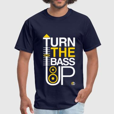 TURN THE BASS UP - Speaker and Music - Men's T-Shirt
