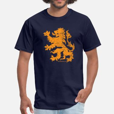 Dutch Flag Dutch Lion - Men's T-Shirt