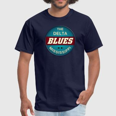 the delta blues - Men's T-Shirt