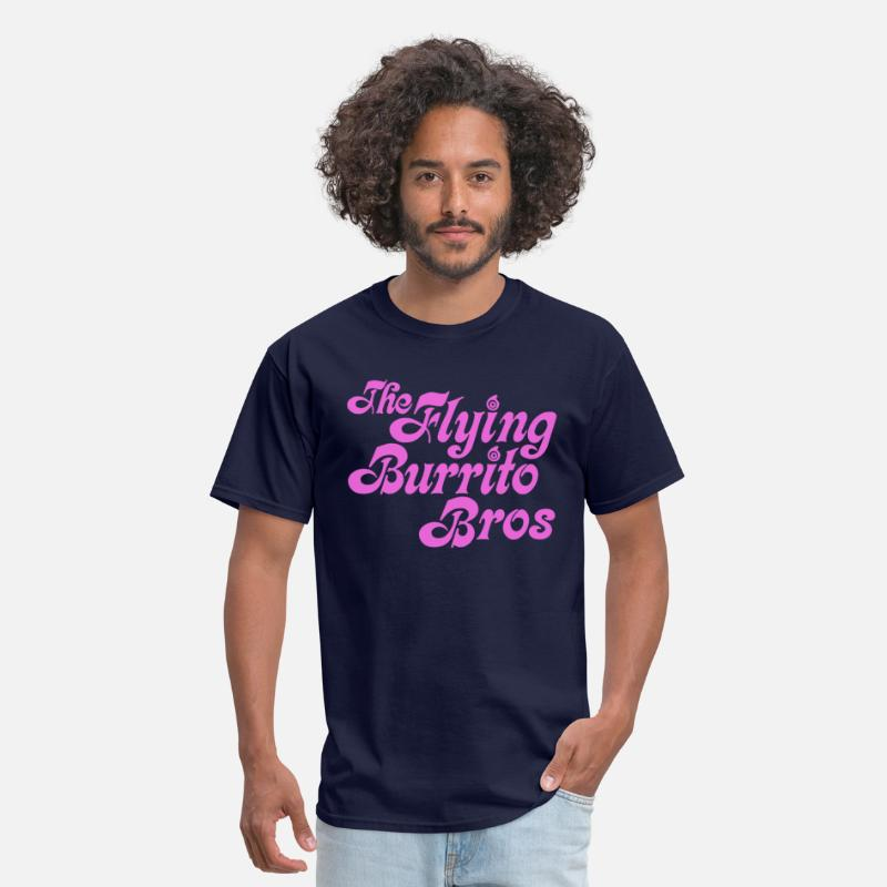 Flying Burrito Brothers T-Shirts - Flying Burrito Brothers - Men's T-Shirt navy
