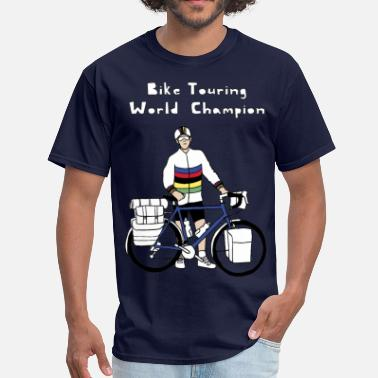 World Tour Bike Touring World Champion - Men's T-Shirt