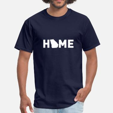 Georgia Home Home is where Georgia is - Men's T-Shirt