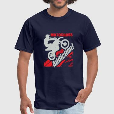 Motocross Addiction - Men's T-Shirt