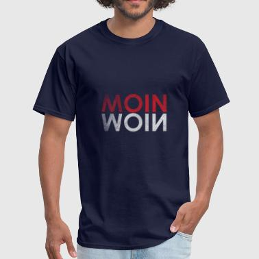 Moin Moin greeting Hamburg Germany - Men's T-Shirt