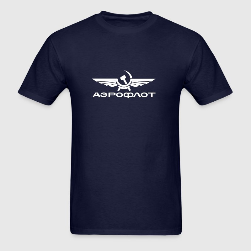 aeroflot airline - Men's T-Shirt