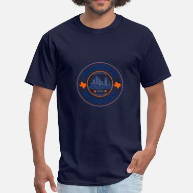 Clc CLC Houston InspirVation Fitness Shirt Blue/Orange - Men's T-Shirt