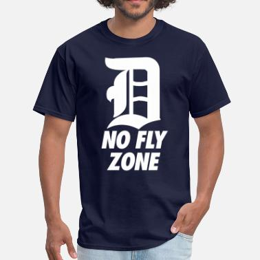 Red Zone No Fly Zone - Men's T-Shirt