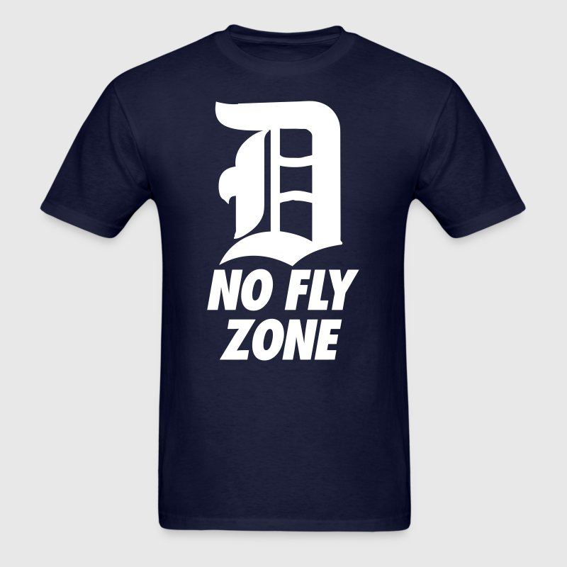 No Fly Zone - Men's T-Shirt