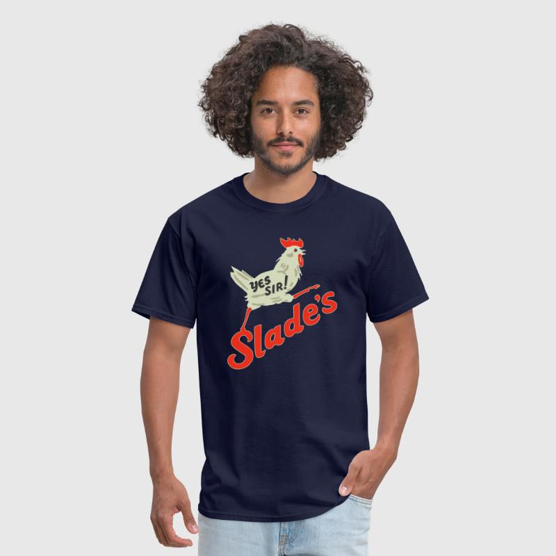 Slades Barbecue - Men's T-Shirt