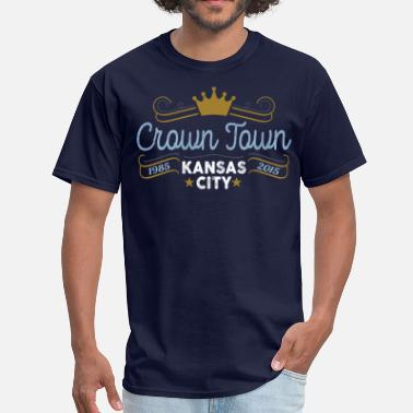 Crown Town Crown Town Kansas City - Men's T-Shirt