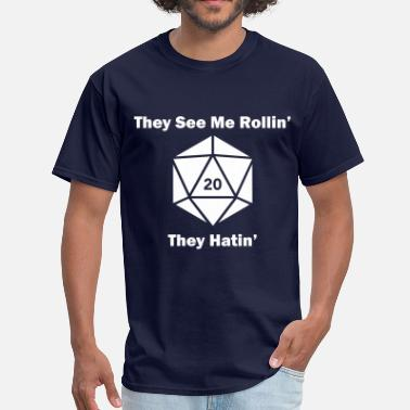They See Me Rollin' - Men's T-Shirt