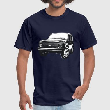 Lada Lada Niva illustration - Men's T-Shirt