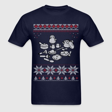 Cooking Christmas Sweater - Men's T-Shirt