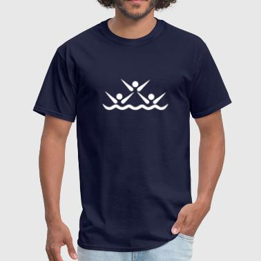 Synchronized swimming - Men's T-Shirt