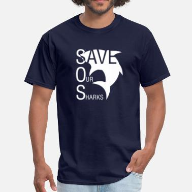 Save Our Oceans Save Our Sharks - Men's T-Shirt