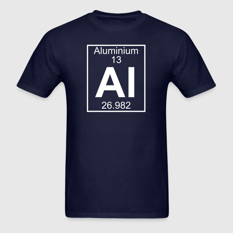 Element 13 - Al (aluminium) - Full - Men's T-Shirt