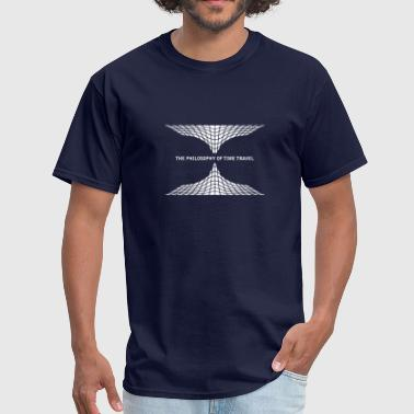 philosophy time travel - Men's T-Shirt