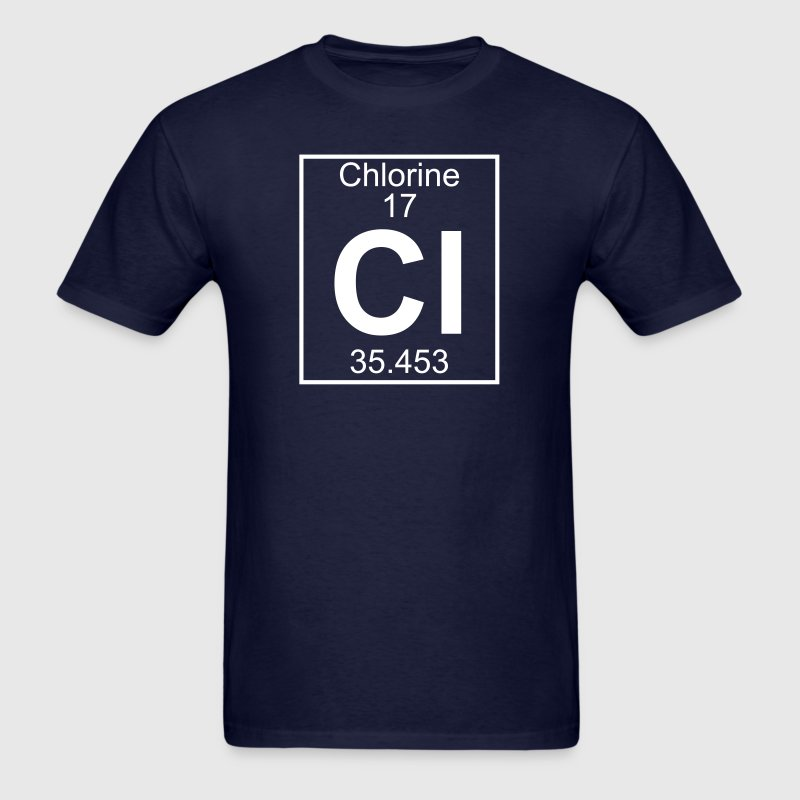 Element 17 - Cl (chlorine) - Full - Men's T-Shirt