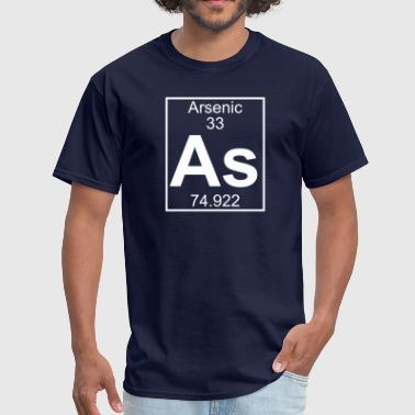 Element 33 - As (arsenic) - Full - Men's T-Shirt