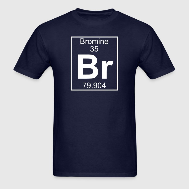 Element 35 - Br (bromine) - Full - Men's T-Shirt