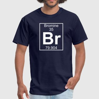 Bromine Element 35 - Br (bromine) - Full - Men's T-Shirt