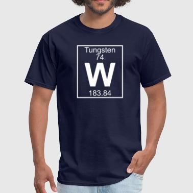 Tungsten Element 74 - W (tungsten) - Full - Men's T-Shirt