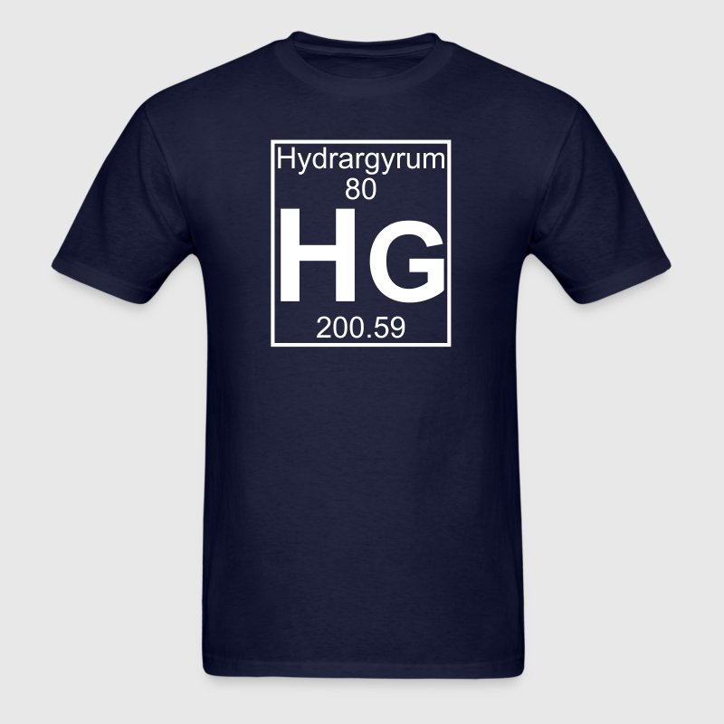 Element 80 - Hg (hydrargyrum) - Full - Men's T-Shirt
