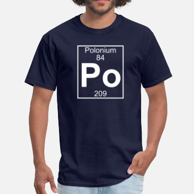 Polonium Element 84 - Po (polonium) - Full - Men's T-Shirt