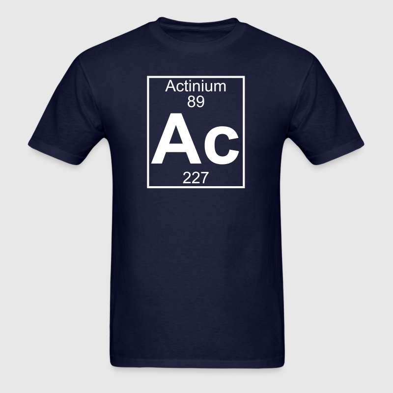 Element 89 - ac (actinium) - Full - Men's T-Shirt