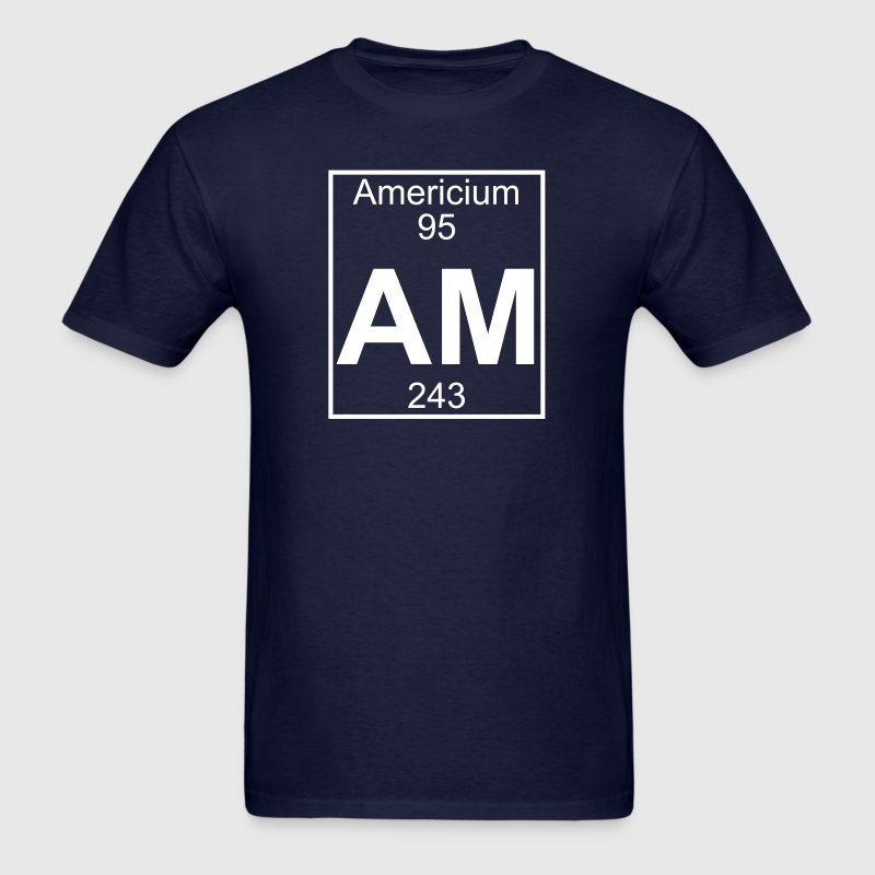 Element 95 - am (americium) - Full - Men's T-Shirt