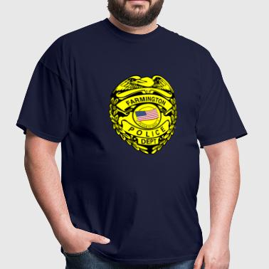 farmington shield PD - Men's T-Shirt