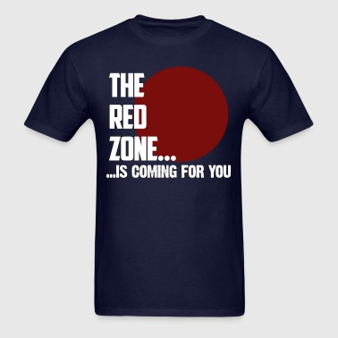 The Red Zone - Men's T-Shirt