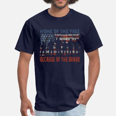 Home Home of the Free - Men's T-Shirt