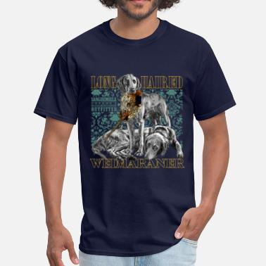 Long Hair long haired weimaraner - Men's T-Shirt