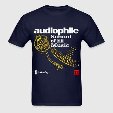 audiophile gold - Men's T-Shirt