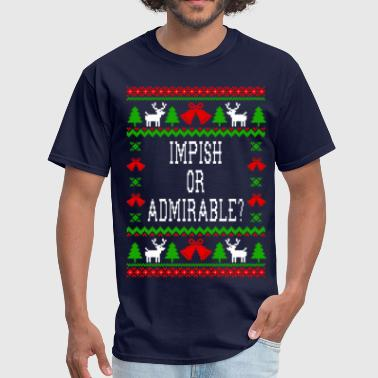 Dwight Schrute Impish Or Admirable? The Office Quote - Men's T-Shirt