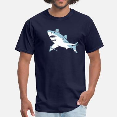 Sir Critter Sir Great White - Men's T-Shirt