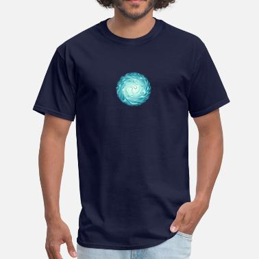 India Psychedelic Psy Energy Ball, Chi, Reiki, Chakra, Arc Reactor - Men's T-Shirt