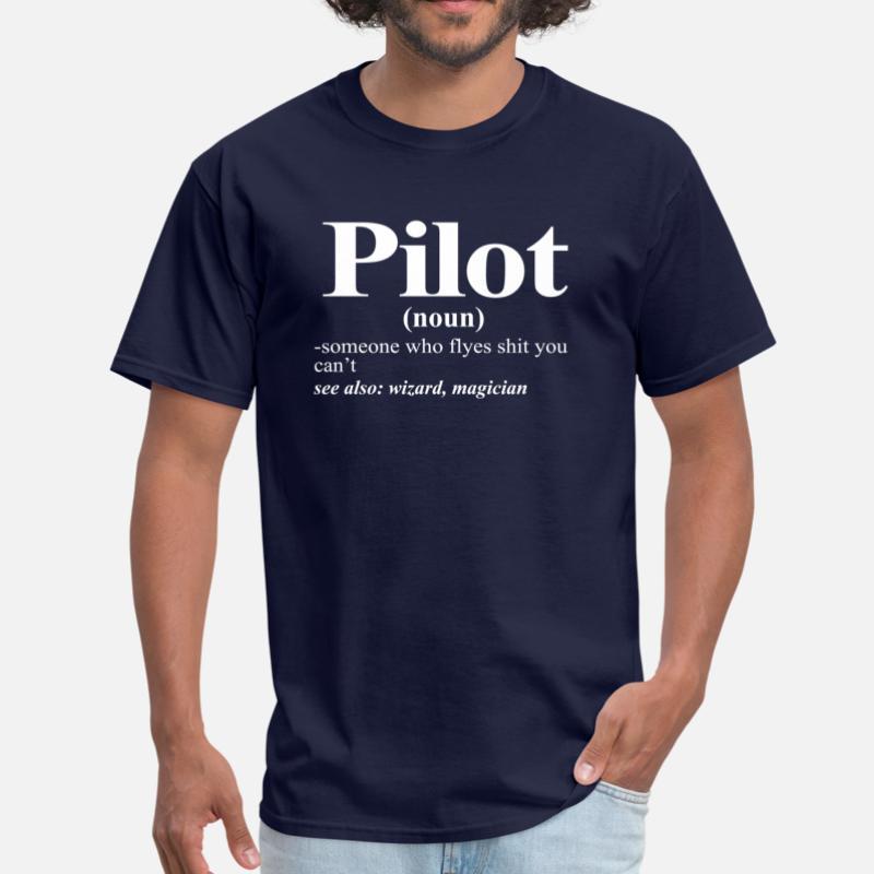 Shop Pilot Funny T Shirts Online