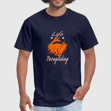 Be Paragliding Paraglider - Men's T-Shirt