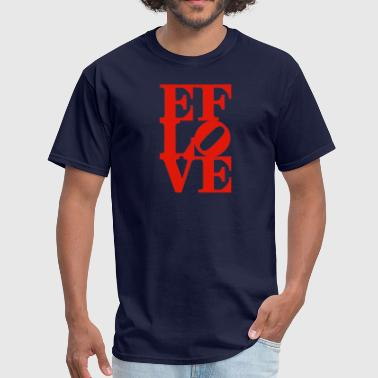 EF LOVE - Men's T-Shirt